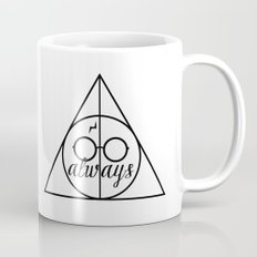 H A R R Y  P O T T E R - Four Houses B&W Mug