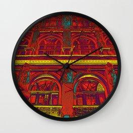 HOTEL DU ROUGE Wall Clock