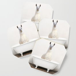 llama in a Vintage Bathtub (c) Coaster