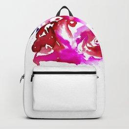Three Purple Christchurch Roses Backpack