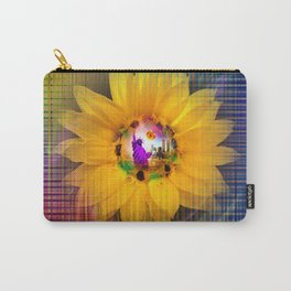 New York NYC - Statue of Liberty - Flowermagic Carry-All Pouch