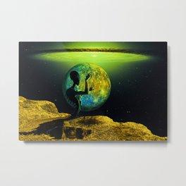 Alien planet Metal Print