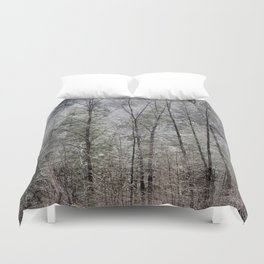 Snow Dusted Trees, No. 1 Duvet Cover