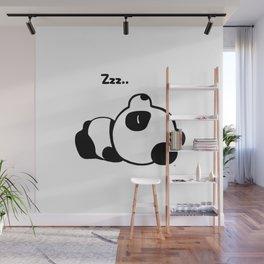 Sleeping Baby Panda Kawaii AWWW! Wall Mural