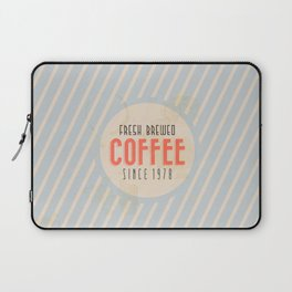 Fresh Brewed Coffee Laptop Sleeve