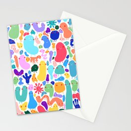 Bacterial world Stationery Cards