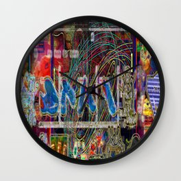 Life Only Makes Sense In Certain Fictions [A.N.T.S. Series] Wall Clock
