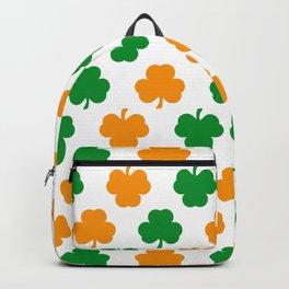 Irish Shamrocks Backpack