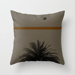 Palmtree Throw Pillow