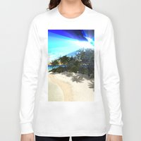 island Long Sleeve T-shirts featuring Island by nicky2342