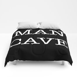 MAN CAVE Comforters