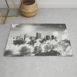 City in the Clouds Rug