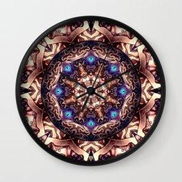 Mandeleyes mandala - Manafold Art Wall Clock