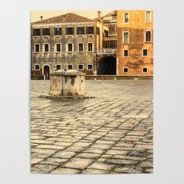 Venetian Ghetto Poster