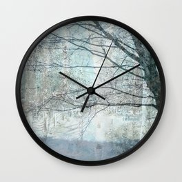 """ Remembering Spring "" Wall Clock"