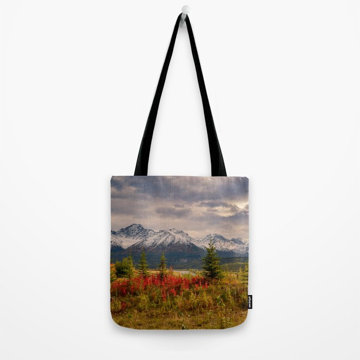 Seasons Turning Tote Bag