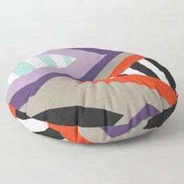 Retro geometric decoration Floor Pillow