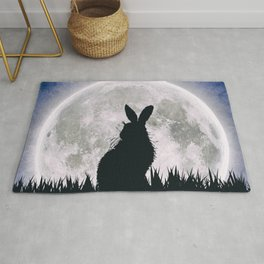 The Hare's Moon Rug