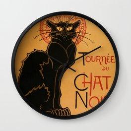"Théophile Steinlen ""Tournée du Chat Noir"" Wall Clock"