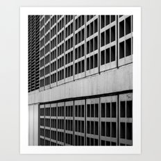 Urban Geometry Art Print