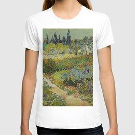 Vincent van Gogh - Garden at Arles T-shirt