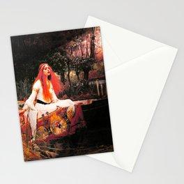Vivid Retro - The Lady of Shalott Stationery Cards