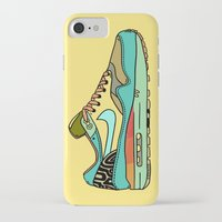 nike iPhone & iPod Cases featuring nike 001 by Marcelo Romero