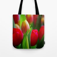 easter Tote Bags featuring Easter by Herzensdinge