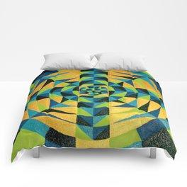 Healing Earth Mandala Comforters