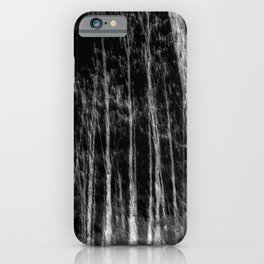 Black and white tree photography - Watercolor series #7 iPhone Case