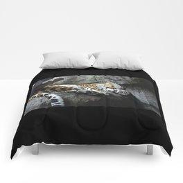 Amur Leopard Comforters