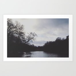 Morning stillness Art Print