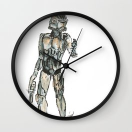Clone trooper order 66 Wall Clock