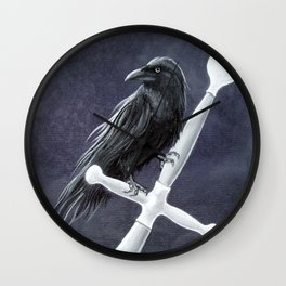 Knights Watcher Wall Clock