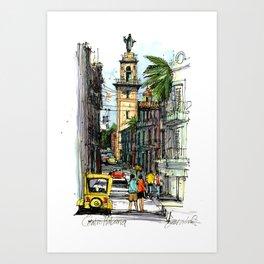Central Havana Art Print