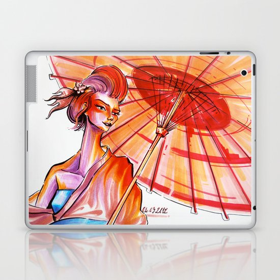 Japanese Laptop & iPad Skin