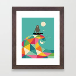 Surfs Up Framed Art Print