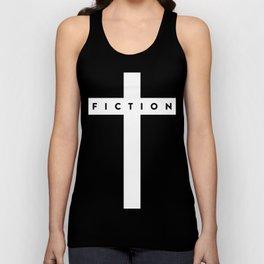 Fiction Cross Dark Unisex Tank Top