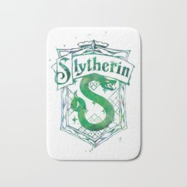 Slytherin Crest Bath Mat
