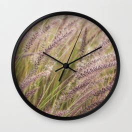 Dancing with the winds Wall Clock