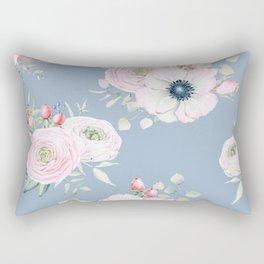 Dog Roses #society6 #buyart Rectangular Pillow
