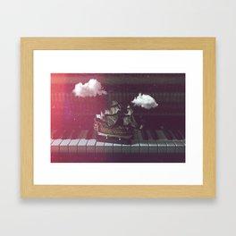 Musical Ship Framed Art Print