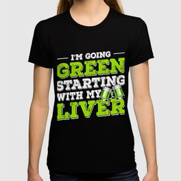 St Patrick's Day Drinking Green Beer T-shirt