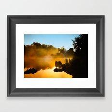 Golden Mist  Framed Art Print