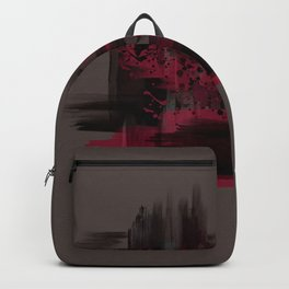 """Abstract Porstroke"" Backpack"