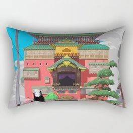 Spirited Away - Pixel Art Rectangular Pillow