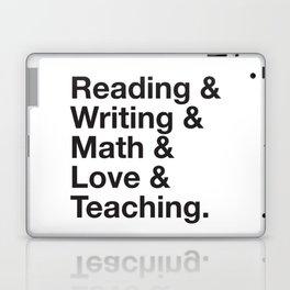 Love Teaching Laptop & iPad Skin