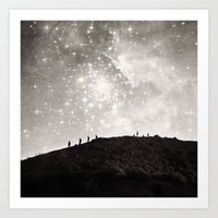 starry night Art Prints featuring Starry Night  by Laura Ruth