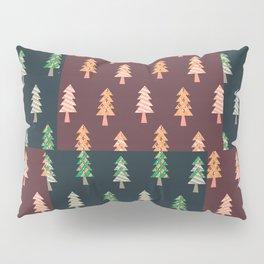 Xmas Tree Asymmetric Pattern Pillow Sham