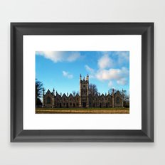 Aberford Almshouses Framed Art Print